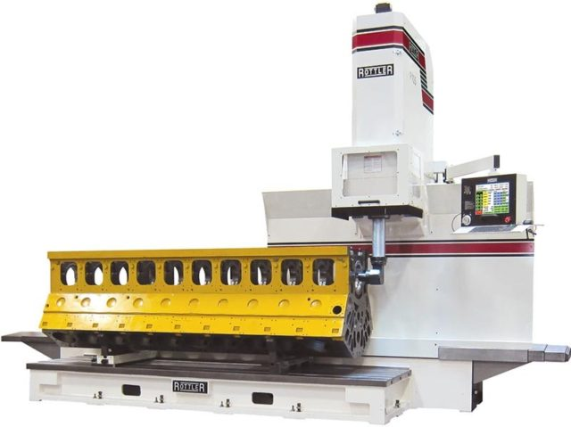 Rottler F103A Traveling Column Boring, Surfacing & Line Boring Machine