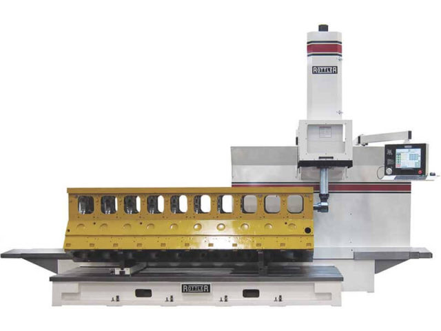 Rottler F104A Traveling Column Boring, Surfacing & Line Boring Machine