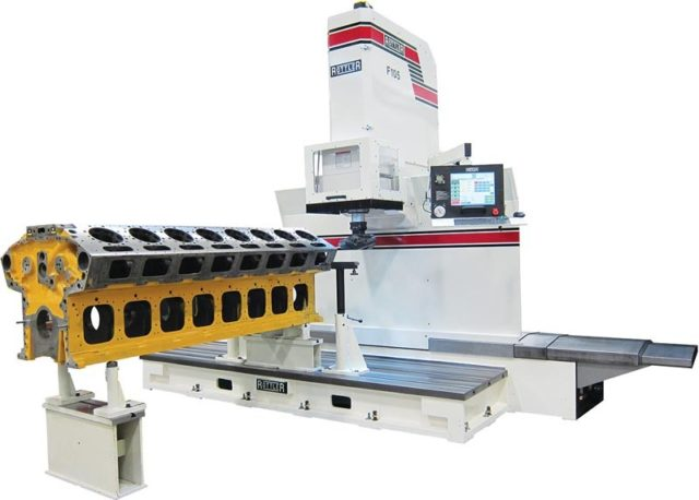 Rottler F105A Traveling Column Boring, Surfacing & Line Boring Machine