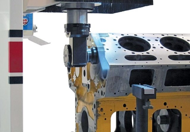 Rottler F104A Traveling Column Boring, Surfacing & Line Boring Machine - Detail