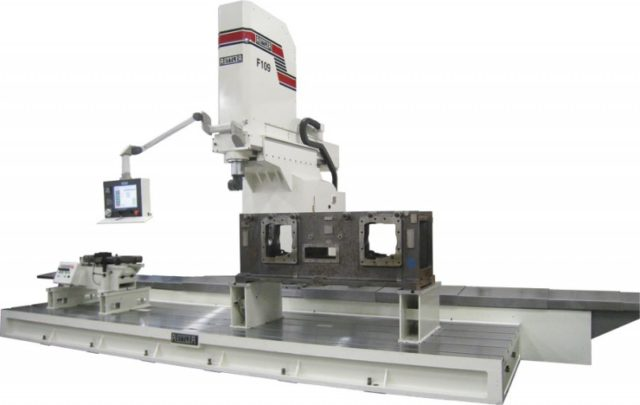Rottler F109AH Multi Purpose CNC Machining Center including HSK80A Spindle Taper