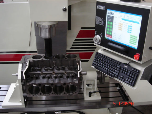 Rottler F69A Programmable Automatic Machining Center - Control