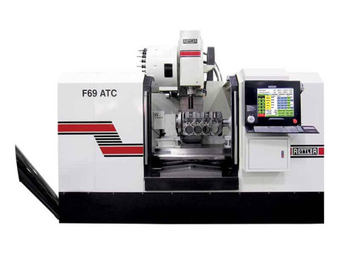 Rottler F69ATC CNC Machining Center with Automatic Tool Changer