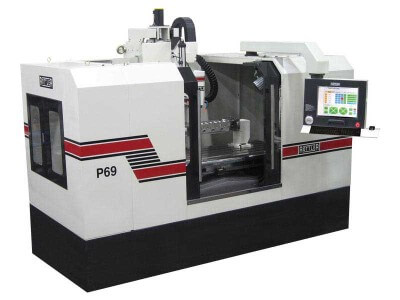 Rottler P69AHD 5 Axis CNC Cylinder Head Digitizing & Porting Machine