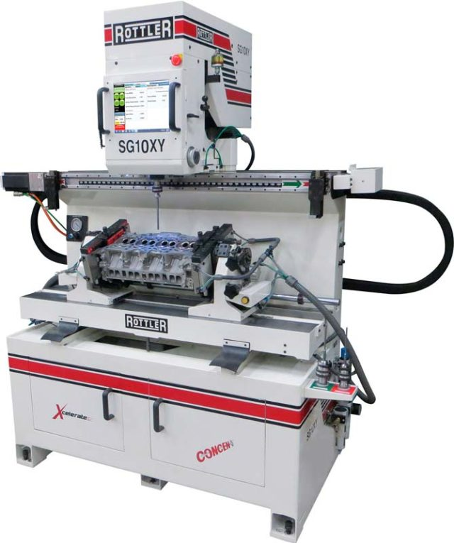 SG10XY ACTIV SPINDLE Programmable Automatic Valve Guide-to-Guide Cylinder Head Machining Center