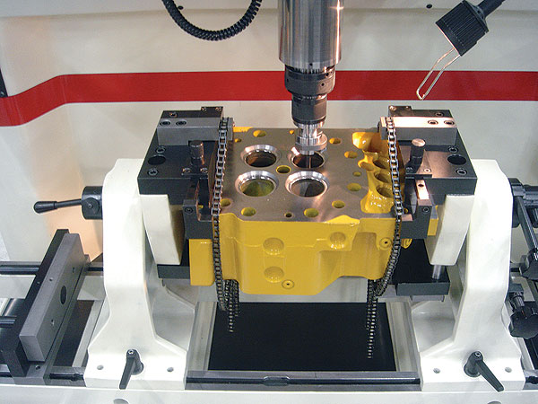 Rottler SG80A Heavy Duty Cylinder Head Valve Seat and Guide Machine