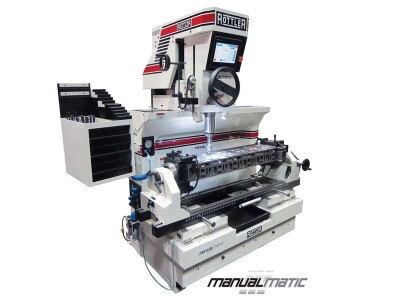 Rottler SG80MTS MANUALMATIC Heavy Duty Cylinder Head Seat & Guide Machine