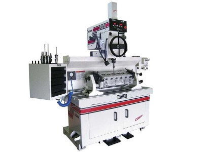 Rottler SG9MTS MANUALMATIC ACTIVE SPINDLE Cylinder Head Valve Seat and Guide Machine Utilizing UNIPILOT Carbide Centering Pilots