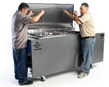 Omegasonics Power PRO 8000 Ultrasonic cleaner - 110 gal.