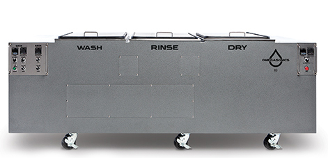 Omegasonics Viking DX3 Multi-Stage Ultrasonic Cleaner