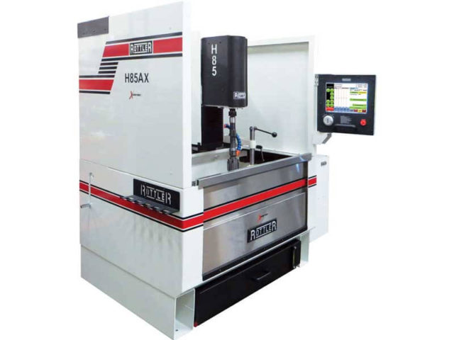 Rottler H85AX CNC Automatic Vertical Honing Machine with Hole-to-Hole Automation