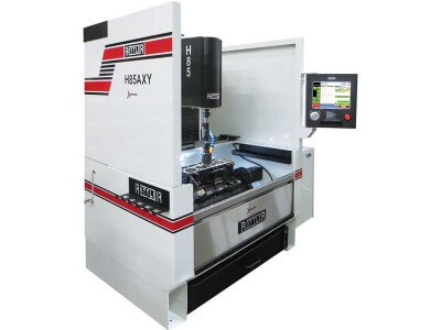 Rottler H85AXY CNC Automatic Vertical Honing Machine with Hole-to-Hole Automation and Optional Block Roll Over