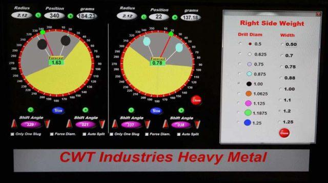 Balancing Machines - CWT Industries Multi-Bal 5500. Heavy metal vector forecasting (HMVF)
