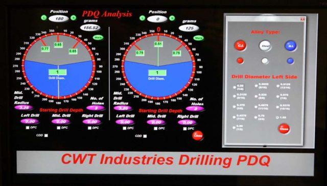 Balancing Machines - CWT Industries Multi-Bal 5500. Precision drill qualifying (PDQ)