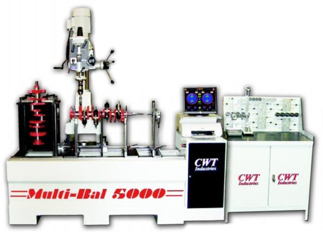 Balancing Machines - CWT Industries - Multi-bal 5000