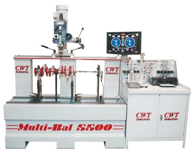 Balancing Machines - CWT Industries Multi-bal 5500
