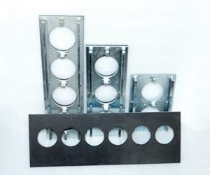 DELTA Custom Tools - Delta 6000 - Custom plates